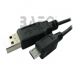 BPS172PB BAFO USB2.0 A Male to Micro USB Male 5 PIN 1 Meter