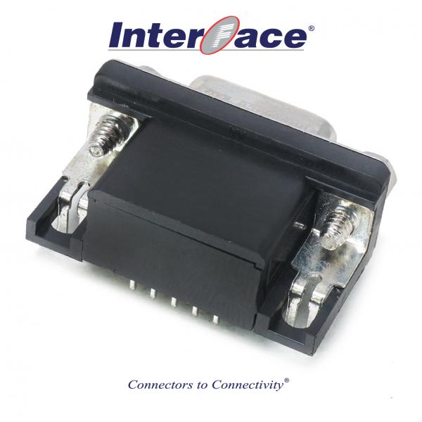 ICD2-FA15, D-Sub 15Pin Female HD PCB Mount Right Angle