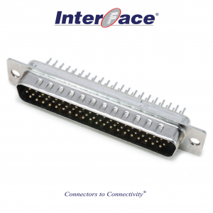 ICD2-MT62, D-Sub 62Pin Male HD PCB Straight