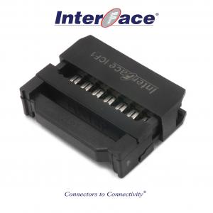 ICF1-14, 2.54mm 14pin IDC Socket