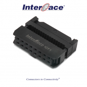 ICF1-16, 2.54mm 16pin IDC Socket