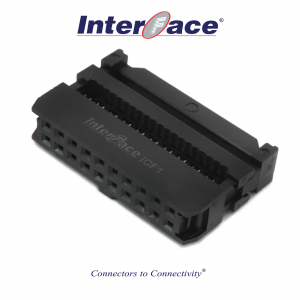 ICF1-20, 2.54mm 20pin IDC Socket