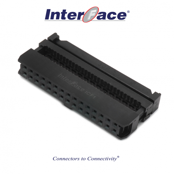 ICF1-30, 2.54mm 30pin IDC Socket