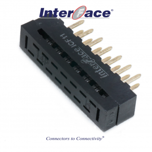 ICF11-014, 2mm 14Pin Transition Straight