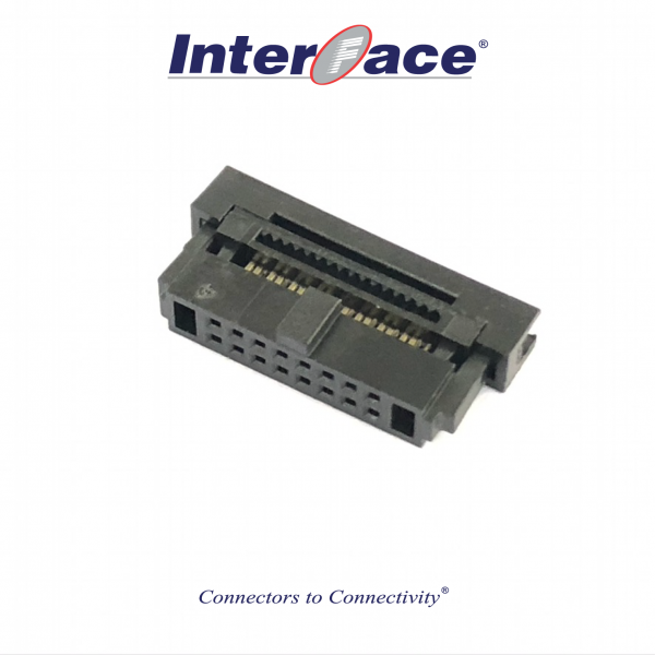 ICF13-16, 1.27mm 16pin IDC Socket