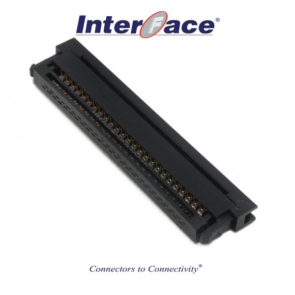 ICF13-50, 1.27mm 50pin IDC Socket