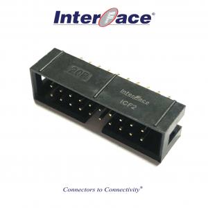 ICF2-20S, 2.54mm 20Pin Box Header Straight