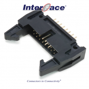 ICF3-16S, 2.54mm 16Pin Header Straight Fully Shrouded with Latch