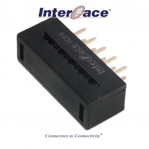 ICF6-010, 2.54mm 10Pin Transition Straight