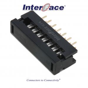 ICF6-014, 2.54mm 14Pin Transition Straight