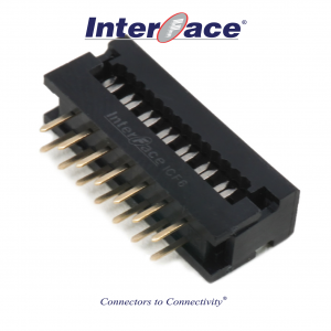 ICF6-014, 2.54mm 14Pin Transition Straight
