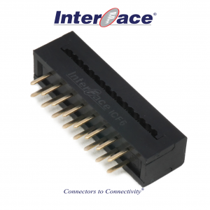 ICF6-016, 2.54mm 16Pin Transition Straight