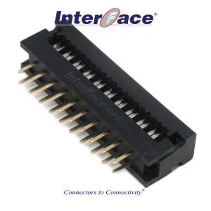 ICF6-020, 2.54mm 20Pin Transition Straight
