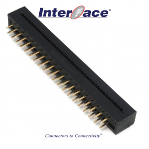 ICF6-040, 2.54mm 40Pin Transition Straight
