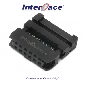 ICF8-12, 2mm 12pin IDC Socket
