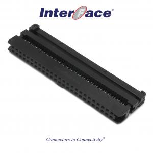 ICF8-50, 2mm 50pin IDC Socket