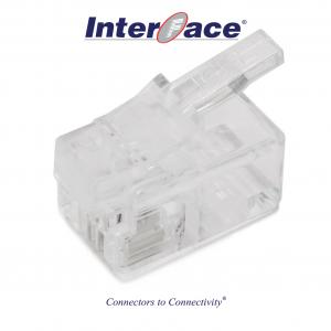ICMP-42-00 RJ11 4P2C Plug Connectors