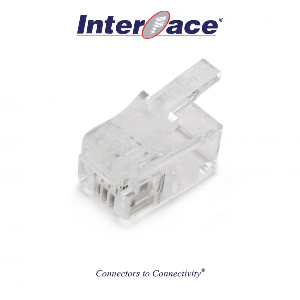 ICMP-44-00 RJ11 4P4C Plug Connectors