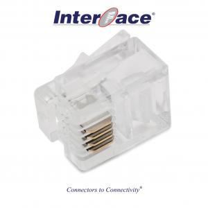 ICMP-64-00 RJ11 6P4C Plug Connectors