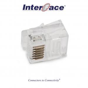 ICMP-66-00 RJ11 6P6C Plug Connectors