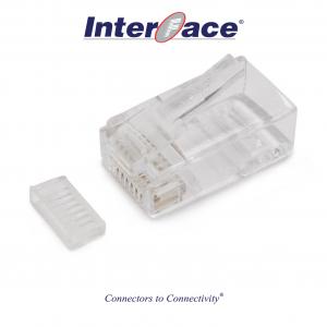 ICMP-88-02H RJ45 8P8C Plug Connectors, 3 micron