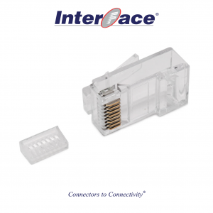 ICMP-88-12E RJ45 8P8C Plug Connectors, 50 micron