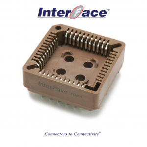ICP1-44, 1.27mm 44 Way PLCC Socket