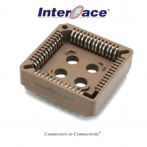 ICP1-52, 1.27mm 52 Way PLCC Socket