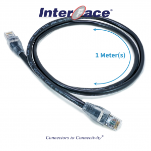 Cat6 SFTP Black 1 Meter(s)