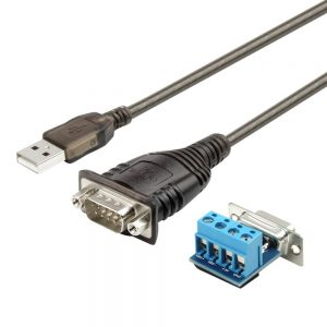 UT-105 USB2.0 Serial RS485/RS232 Cable Adapter Y-1082