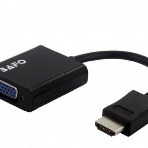 BF-3369 BAFO HDMI to VGA Audio Adapter